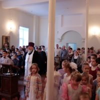 Рождественский праздник в епархиальной школе
