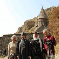 С визитом в Армению