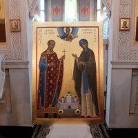 Освящение иконы Михаила Тверского и Анны Кашинской для Севастополя