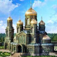 Икона Михаила Тверского в Главном храме вооруженных сил России